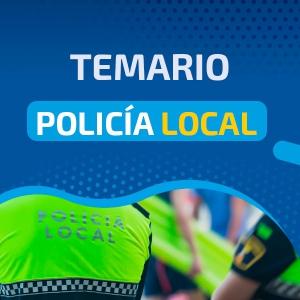 Temario Policía Local