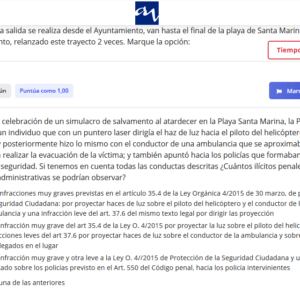 Examen Curso Policía Local Asturias
