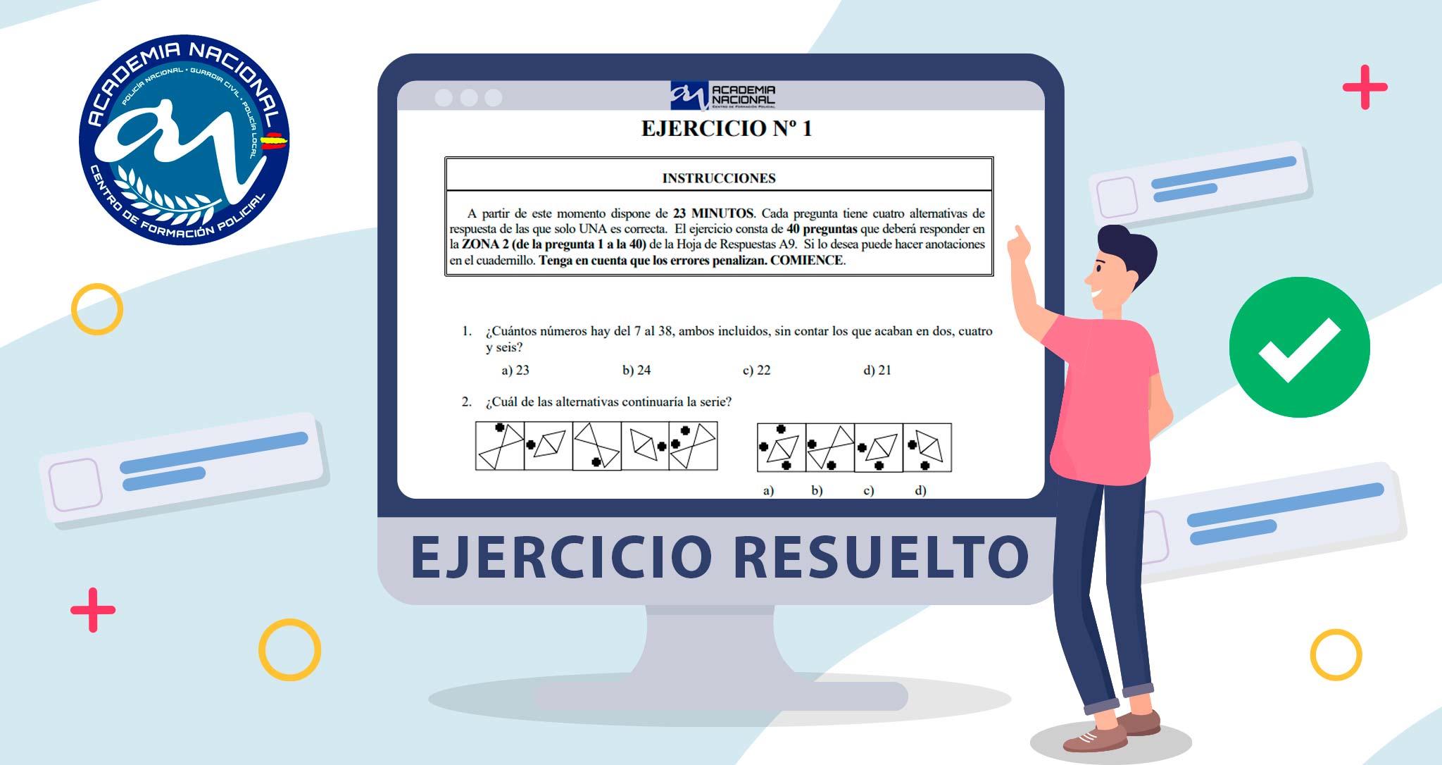 Video Explicación Examen Psicotécnico Promoción XXXVII Escala Básica